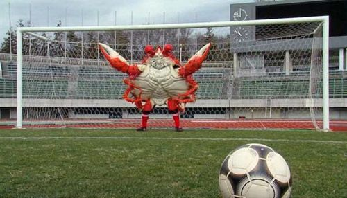 Crab Goalkeeper is a movie?  I'd watch it.