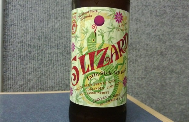 5 Lizard Latin Style Wit Beer