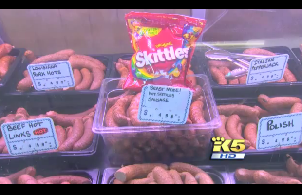 Skittles Sausage Anyone?