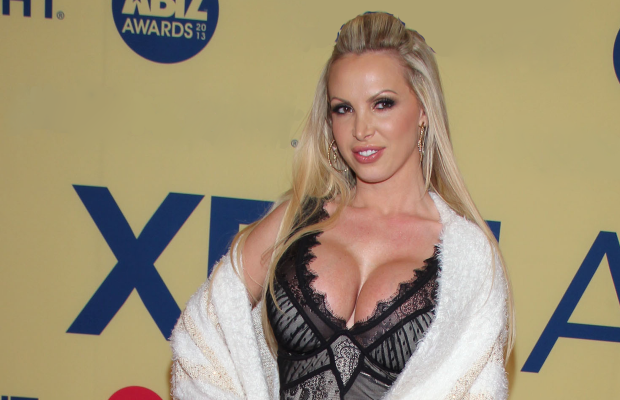 Busty mayoral candidate nikki benz fucks a big black cock