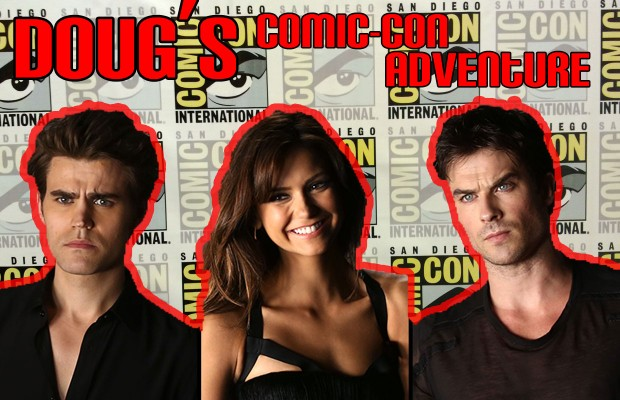 Doug's Comic-Con Adventure: The Vampire Diaries